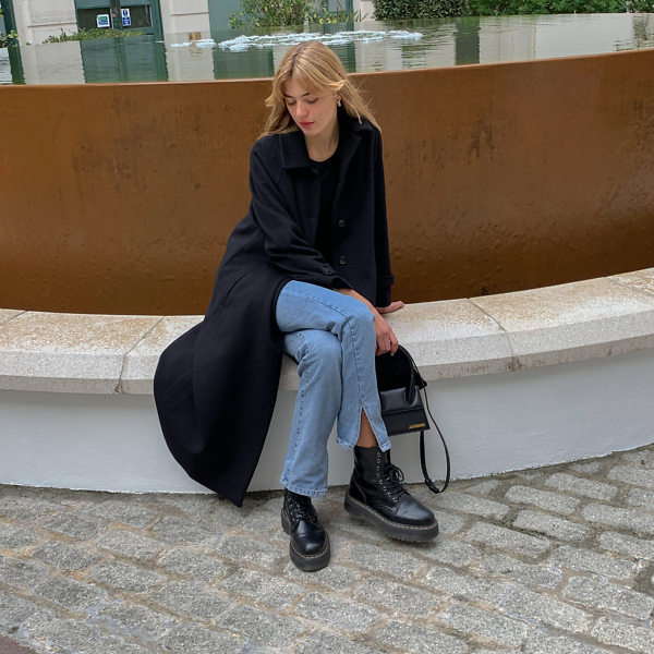 Black Car Coat