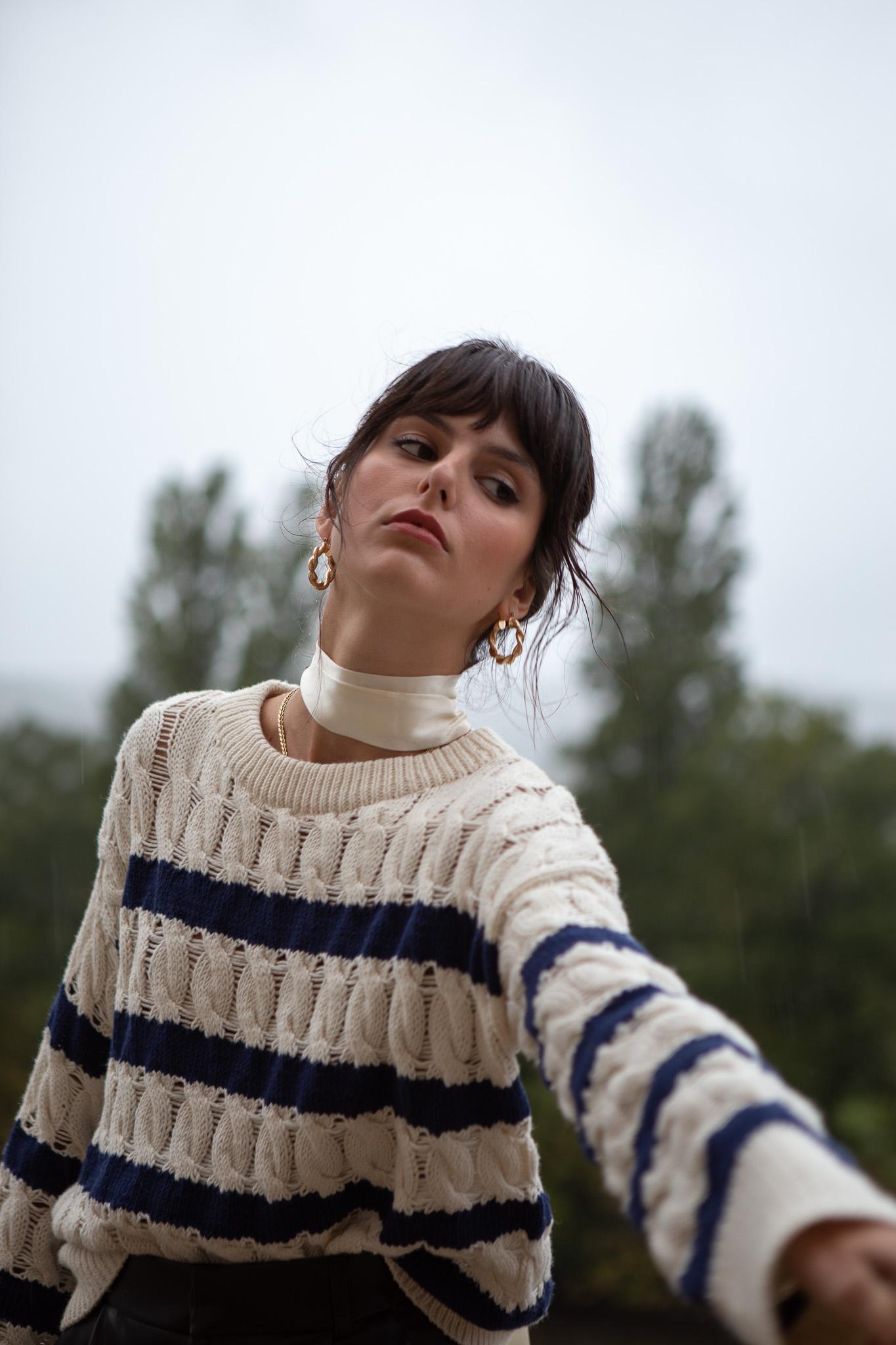 Arran Striped Sweater